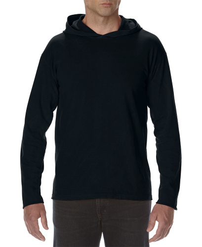 Comfort Colors Adult Long Sleeve Hooded Tee
