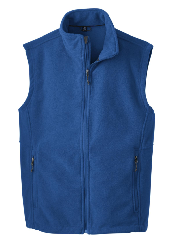 True Royal Port Authority Value Fleece Vest as seen from the front