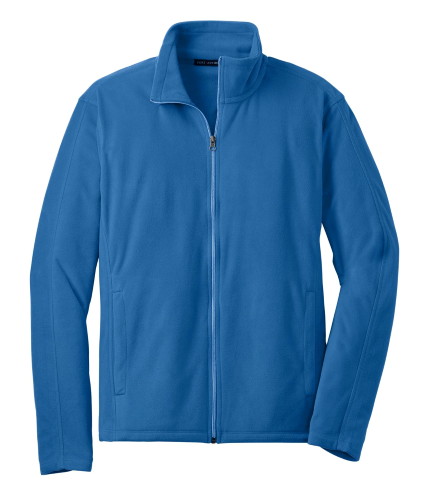 Light Royal Port Authority Microfleece Jacket as seen from the front