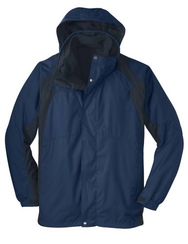 Ins Bl Nvy Ecl Port Authority Ranger 3-in-1 Jacket as seen from the front