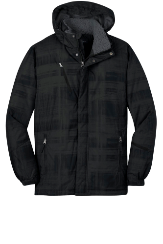 Port Authority Brushstroke Print Insulated Jacket