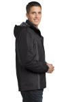 Blk Blk Mag Gy Port Authority Colorblock 3-in-1 Jacket as seen from the sleeveleft
