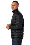 Black Port Authority Down Jacket as seen from the sleeveleft