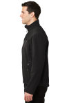 Black Chrome Port Authority Glacier Soft Shell Jacket as seen from the sleeveleft