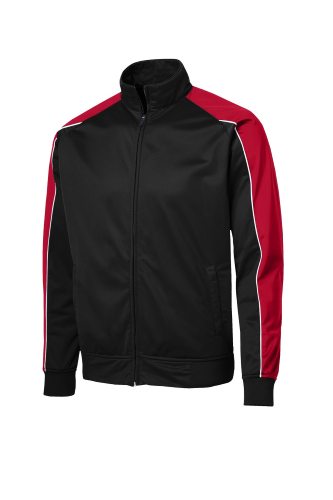 Sport-Tek Piped Tricot Track Jacket
