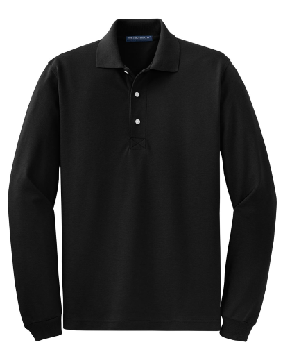 Port Authority Rapid Dry Long Sleeve Polo - Embroidered