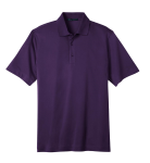 Regal Purple Port Authority Tech Pique Polo as seen from the front