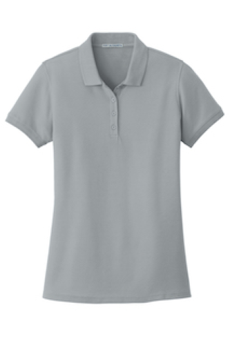 Port Authority Ladies Core Classic Pique Polo - Embroidered