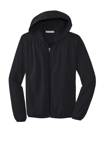 Port Authority ® Ladies Hooded Essential Jacket