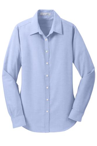 Port Authority Ladies SuperPro Oxford Shirt
