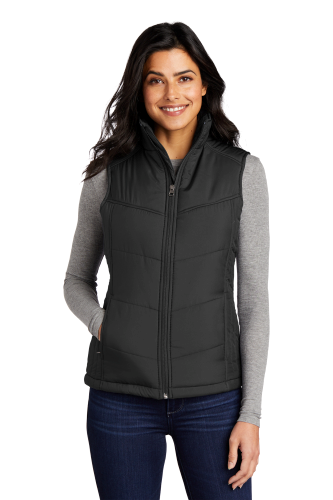 Port Authority Ladies Puffy Vest - Embroidered
