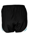 Blk Tropbl Wht Sport-Tek Ladies Cadence Short as seen from the back