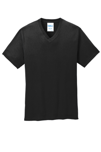 Port & Company 5.4-oz 100% Cotton V-Neck T-Shirt