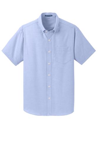 Port Authority Short Sleeve SuperPro Oxford Shirt