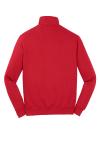 True Red Sport-Tek 1/4-Zip Sweatshirt as seen from the back
