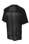 Black Sport-Tek PosiCharge ™ Replica Jersey as seen from the back