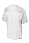 White Sport-Tek PosiCharge ™ Replica Jersey as seen from the back