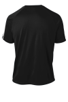 Black White Sport-Tek Colorblock Competitor Tee as seen from the back