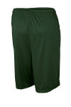 Forest Green Sport-Tek Competitor Short as seen from the back