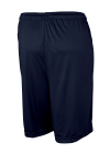 True Navy Sport-Tek Competitor Short as seen from the back
