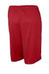 True Red Sport-Tek Competitor Short as seen from the back