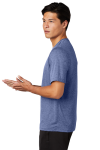 Tr Royal Hthr Sport-Tek Heather Contender Tee as seen from the sleeveleft