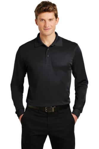 Sport-Tek Long Sleeve Micropique Sport-Wick Polo