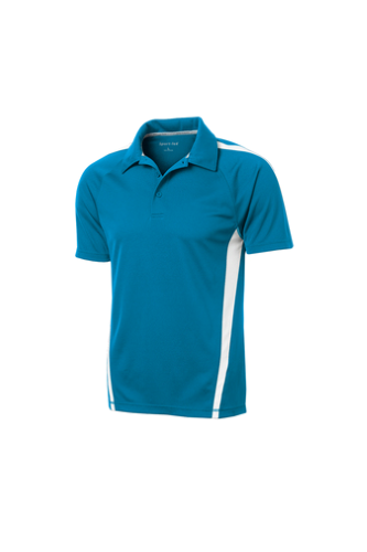 Sport-Tek PosiCharge Micro-Mesh Colorblock Polo - Embroidered