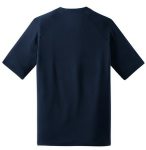 True Navy Sport-Tek Ultimate Performance Crew as seen from the back