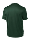 Forest Green Sport-Tek Tall Competitor Tee as seen from the back