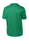 Kelly Green Sport-Tek Tall Competitor Tee as seen from the back