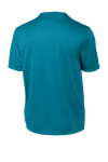 Tropic Blue Sport-Tek Tall Competitor Tee as seen from the back