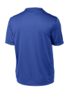 True Royal Sport-Tek Tall Competitor Tee as seen from the back