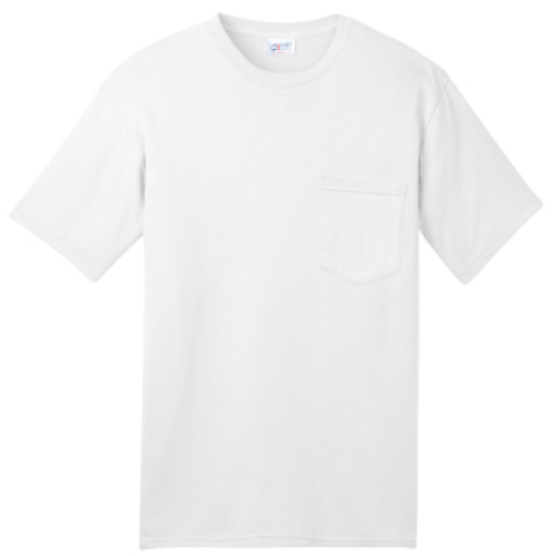 All-American Tee with Pocket