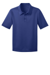 Royal Port Authority Youth Silk Touch Performance Polo as seen from the front