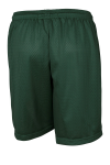 Forest Green Sport-Tek Youth PosiCharge Classic Mesh ™ Short as seen from the back